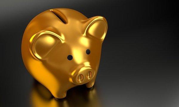 豚の貯金箱 金