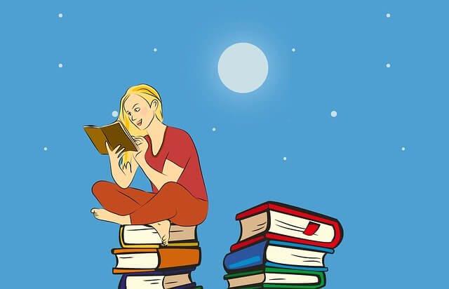 読書 読みふける