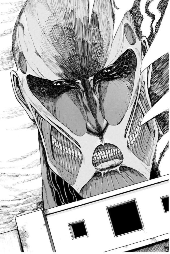 楽天Kobo 画質 進撃の巨人 1巻より